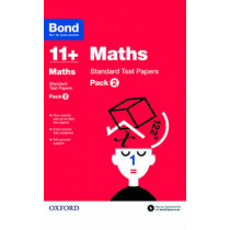 Bond 11+: Maths: Standard Test Papers: Pack 2 by Sarah Lindsay, 9780192740762