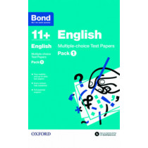 Bond 11+: English: Multiple-choice Test Papers: Pack 1 by Sarah Lindsay, 9780192740830