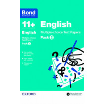 Bond 11+: English: Multiple-choice Test Papers: Pack 2 by Sarah Lindsay, 9780192740847