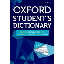 Oxford Student's Dictionary by Oxford Dictionaries, 9780192742384