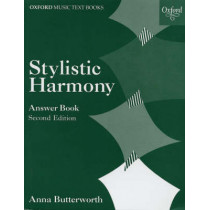 Stylistic Harmony Answer Book by Anna Butterworth, 9780193210561
