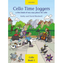 Cello Time Joggers + CD: A first book of very easy pieces for cello by Kathy Blackwell, 9780193220874