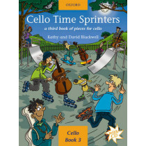 Cello Time Sprinters: A third book of pieces for cello by Kathy Blackwell, 9780193221154