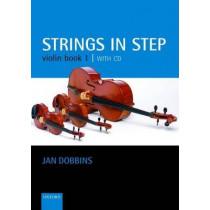 Strings in Step Violin Book 1 (Book and CD) by Jan Dobbins, 9780193221383