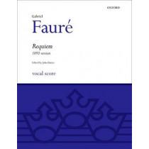 Requiem (1893 Version): Vocal Score by Gabriel Faure, 9780193361034