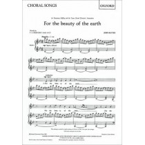 For the beauty of the earth by John Rutter, 9780193415133