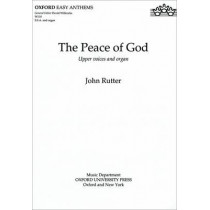 The Peace of God by John Rutter, 9780193426092