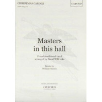 Masters in this hall by David Willcocks, 9780193430099