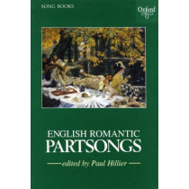 English Romantic Partsongs by Paul Hillier, 9780193436503