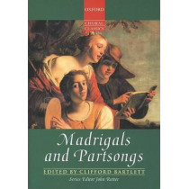 Madrigals and Partsongs by Clifford Bartlett, 9780193436947