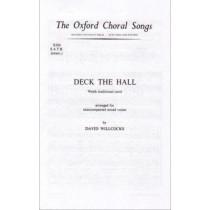 Deck the hall by David Willcocks, 9780193804449