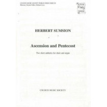 Two Short Anthems for Ascension and Pentecost by Herbert Sumsion, 9780193953833
