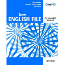 New English File: Pre-intermediate: Workbook: Six-level general English course for adults by Clive Oxenden, 9780194384360
