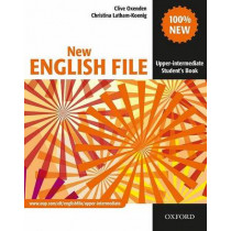 New English File: Upper-Intermediate: Student's Book: Six-level general English course for adults by Clive Oxenden, 9780194518420