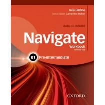 Navigate: B1 Pre-Intermediate: Workbook with CD (with key) by Jane Hudson, 9780194566520