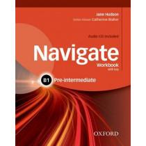 Navigate: B1 Pre-Intermediate: Workbook with CD (with key) by Jane Hudson, 9780194566537