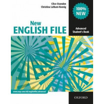 New English File: Advanced: Student's Book: Six-level general English course for adults by Clive Oxenden, 9780194594585