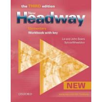 New Headway: Elementary Third Edition: Workbook (With Key) by Liz Soars, 9780194715102