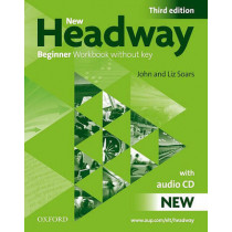 New Headway: Beginner Third Edition: Workbook (Without Key) Pack by John Soars, 9780194717427