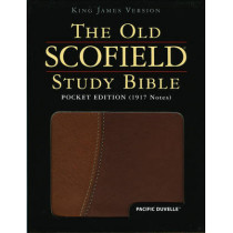 The Old Scofield (R) Study Bible, KJV, Pocket Edition, Pacific Duvelle, 9780195271256