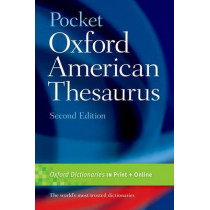 Pocket Oxford American Thesaurus, 9780195301694