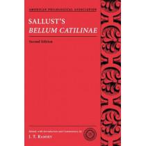 Sallust's Bellum Catilinae by J. T. Ramsey, 9780195320855