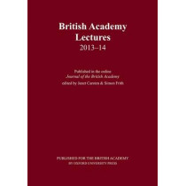 British Academy Lectures 2013-14 by Janet Carsten, 9780197265864