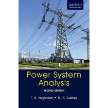 Power System Analysis: Power System Analysis by T. K. Nagsarkar, 9780198096337