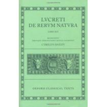 Lucretius De Rerum Natura by Cyril Bailey, 9780198146247