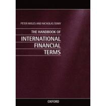 Handbook of International Financial Terms by Peter Moles, 9780198288855