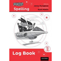 Read Write Inc. Spelling: Log Book 2 Pack of 5 by Ruth Miskin, 9780198305385