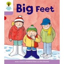Oxford Reading Tree: Level 1+: First Sentences: Big Feet by Gill Howell, 9780198480655