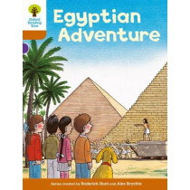 Oxford Reading Tree: Level 8: More Stories: Egyptian Adventure by Roderick Hunt, 9780198483427