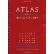 ATLAS of Finite Groups: Maximal Subgroups and Ordinary Characters for Simple Groups by Prof. J. H. Conway, 9780198531999