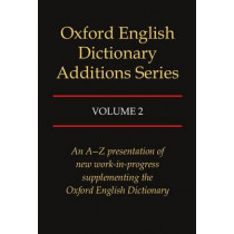 Oxford English Dictionary Additions Series: Volume 2 by John Simpson, 9780198612995