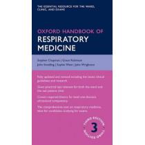 Oxford Handbook of Respiratory Medicine by Stephen Chapman, 9780198703860