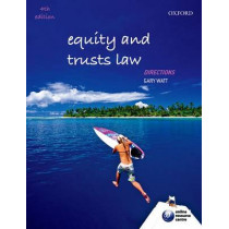 Equity and Trusts Law Directions by Gary Watt, 9780198709862
