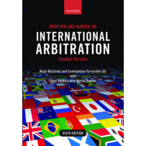 Redfern and Hunter on International Arbitration by Nigel Blackaby, 9780198714255