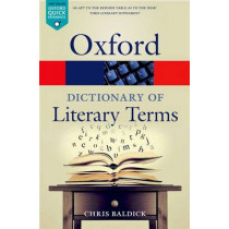 The Oxford Dictionary of Literary Terms by Chris Baldick, 9780198715443