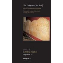 The Palmyrene Tax Tariff by Ilia Sholeimovich Shifman, 9780198726159