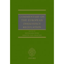 Commentary on the European Insolvency Regulation by Reinhard Bork, 9780198727286