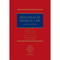 Principles of Medical Law by Judith Laing, 9780198732518
