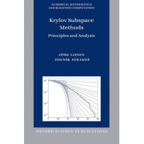 Krylov Subspace Methods: Principles and Analysis by Jorg Liesen, 9780198739043