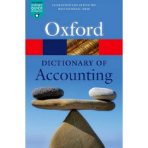 A Dictionary of Accounting by Jonathan Law, 9780198743514