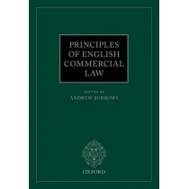 Principles of English Commercial Law by Hon. Andrew Burrows, 9780198746225