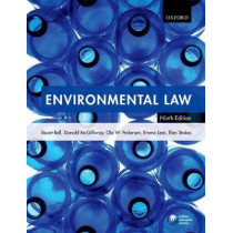 Environmental Law by Stuart Bell, 9780198748328