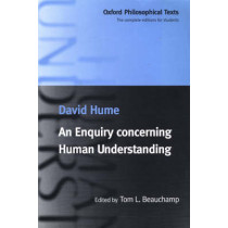 An Enquiry concerning Human Understanding by David Hume, 9780198752486
