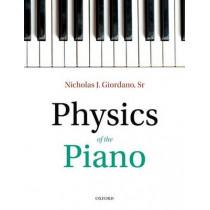Physics of the Piano by Nicholas J. Giordano, 9780198789147