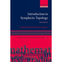 Introduction to Symplectic Topology by Dusa McDuff, 9780198794899