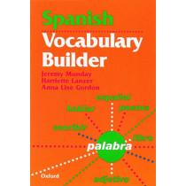 Spanish Vocabulary Builder by Jeremy Munday, 9780199122158